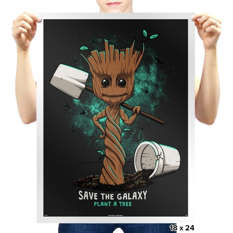 Plant a Tree - Awesome Mixtees - Prints - Posters - RIPT Apparel