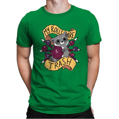 RPG Raccoon - Mens Premium - T-Shirts - RIPT Apparel