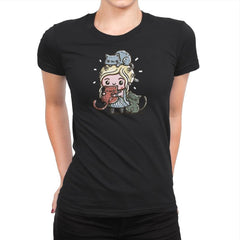 Mother Of Cats - Womens Premium - T-Shirts - RIPT Apparel