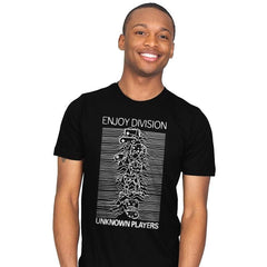Enjoy Division - Record Collector - Mens - T-Shirts - RIPT Apparel