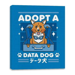 Adopt a Data Dog - Canvas Wraps - Canvas Wraps - RIPT Apparel