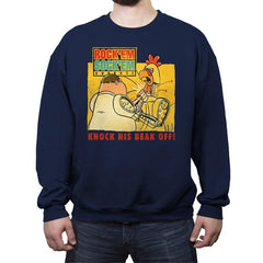 Rock'em Sock'em Guybots - Crew Neck Sweatshirt - Crew Neck Sweatshirt - RIPT Apparel