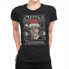 Merry Jerry Christmas - Womens Premium - T-Shirts - RIPT Apparel