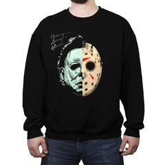 Ruthless Acts of Murder - Record Collector - Crew Neck Sweatshirt - Crew Neck Sweatshirt - RIPT Apparel