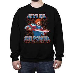 ChuckHe-Man - Crew Neck Sweatshirt - Crew Neck Sweatshirt - RIPT Apparel