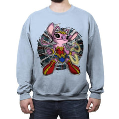 Wonder Angel - Crew Neck Sweatshirt - Crew Neck Sweatshirt - RIPT Apparel
