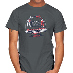 Ryu and Ken's Automotive Repair Exclusive - Mens - T-Shirts - RIPT Apparel