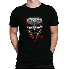 V Mask - Mens Premium - T-Shirts - RIPT Apparel