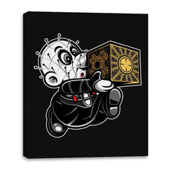 Super Cenobite Bros - Canvas Wraps - Canvas Wraps - RIPT Apparel