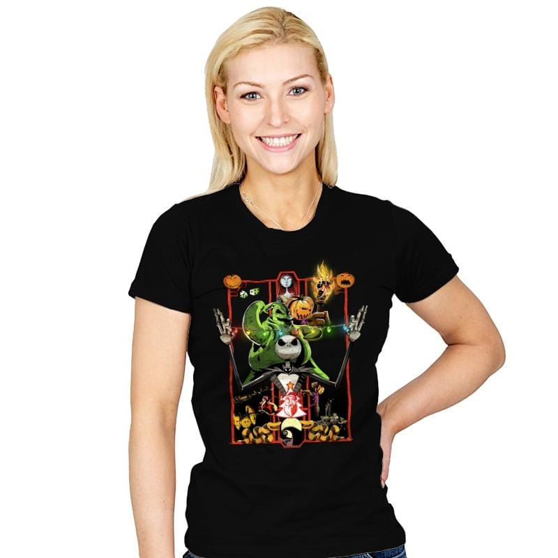 Enter the Nightmare - Womens - T-Shirts - RIPT Apparel