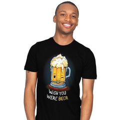 Wish You Were BEER - Mens - T-Shirts - RIPT Apparel