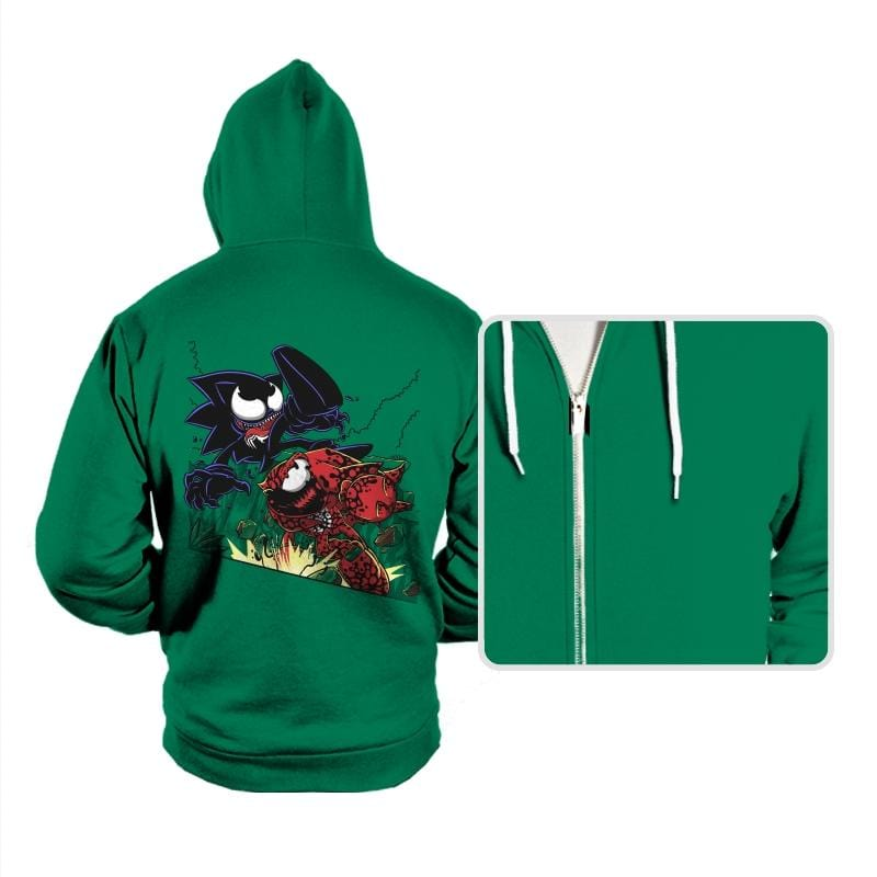 Echidna vs Hedgehog - Hoodies - Hoodies - RIPT Apparel