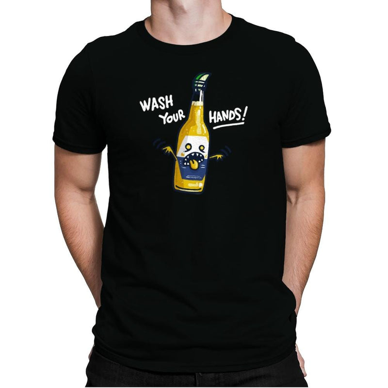 Wash Your Hands - Mens Premium - T-Shirts - RIPT Apparel