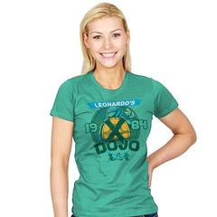 Leo's Dojo - Womens - T-Shirts - RIPT Apparel