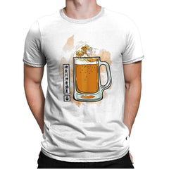 The great beer off Kanagawa - Mens Premium - T-Shirts - RIPT Apparel
