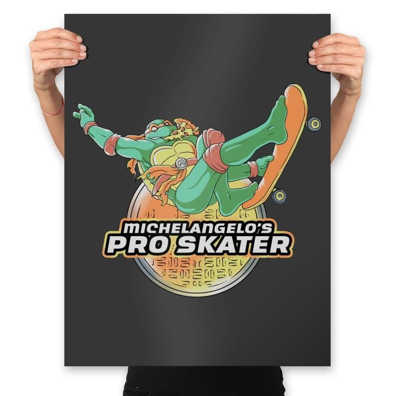 Mikey's Pro Skater - Prints - Posters - RIPT Apparel