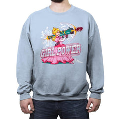 Girl Power - Crew Neck Sweatshirt - Crew Neck Sweatshirt - RIPT Apparel