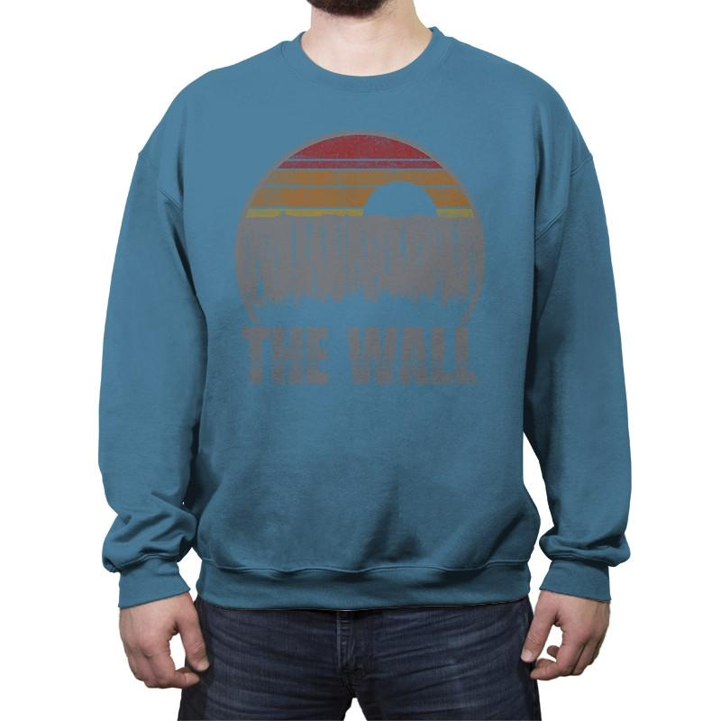 Travel To The North - Crew Neck Sweatshirt - Crew Neck Sweatshirt - RIPT Apparel