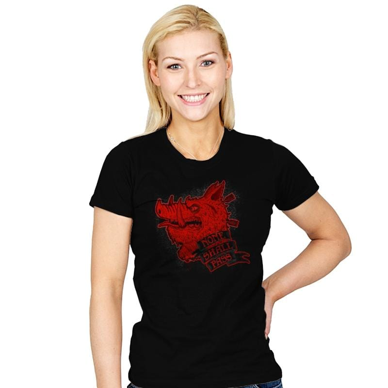 None Shall Pass - Womens - T-Shirts - RIPT Apparel