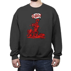 Just a Flesh Wound - Crew Neck Sweatshirt - Crew Neck Sweatshirt - RIPT Apparel