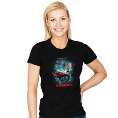 Strange  - Womens - T-Shirts - RIPT Apparel