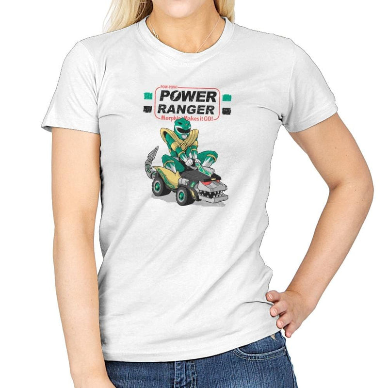 Pow-Pow-Power Exclusive - Womens - T-Shirts - RIPT Apparel