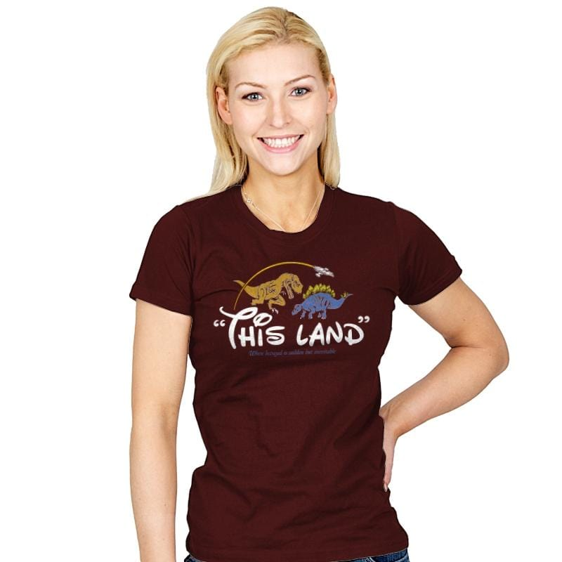 This(ney)land - Womens - T-Shirts - RIPT Apparel