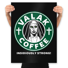 Valak Coffee - Prints - Posters - RIPT Apparel