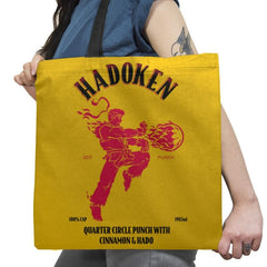 Hadoken Whiskey Exclusive - Tote Bag - Tote Bag - RIPT Apparel