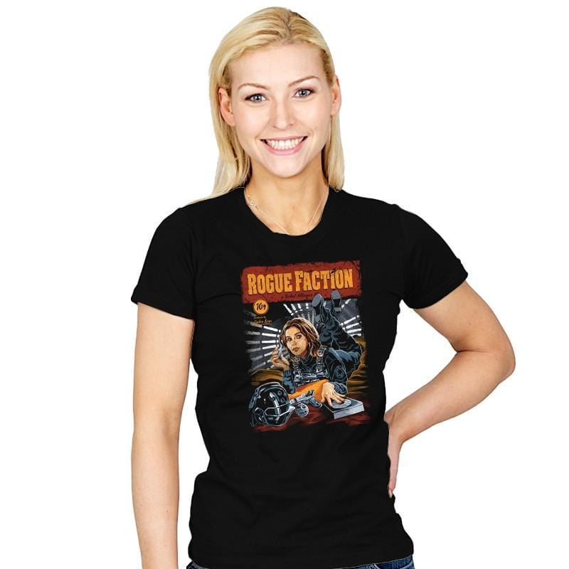 Rogue Faction - Womens - T-Shirts - RIPT Apparel