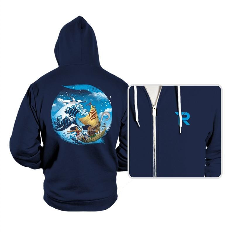 A Tropical Journey - Hoodies - Hoodies - RIPT Apparel