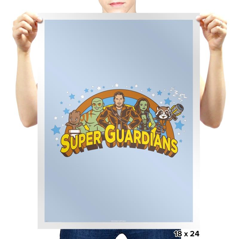 Super Guardians - Awesome Mixtees - Prints - Posters - RIPT Apparel