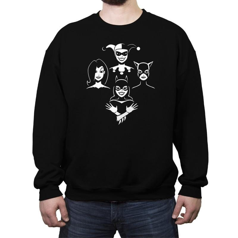Queens - Crew Neck Sweatshirt - Crew Neck Sweatshirt - RIPT Apparel