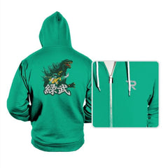 Green Warrior - Hoodies - Hoodies - RIPT Apparel