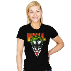 KISS THE BAT - Womens - T-Shirts - RIPT Apparel