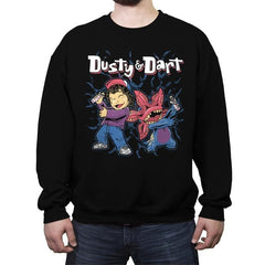 Dusty and Dart - Crew Neck Sweatshirt - Crew Neck Sweatshirt - RIPT Apparel