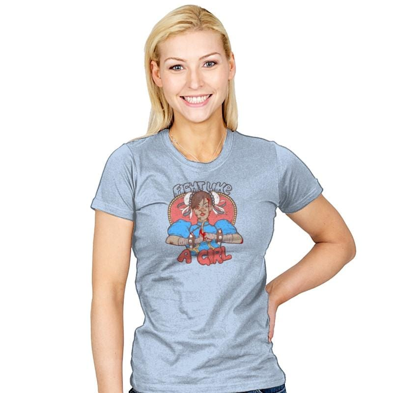 Fight Like A Girl Exclusive - Womens - T-Shirts - RIPT Apparel