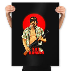 Fat Rambo - Prints - Posters - RIPT Apparel