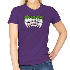 The Joke Has Many Faces Exclusive - Womens - T-Shirts - RIPT Apparel