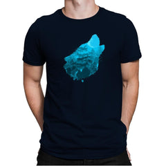 Bark at the Moon - Back to Nature - Mens Premium - T-Shirts - RIPT Apparel