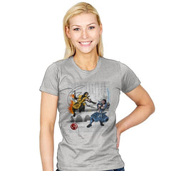 Fire vs Ice - Womens - T-Shirts - RIPT Apparel