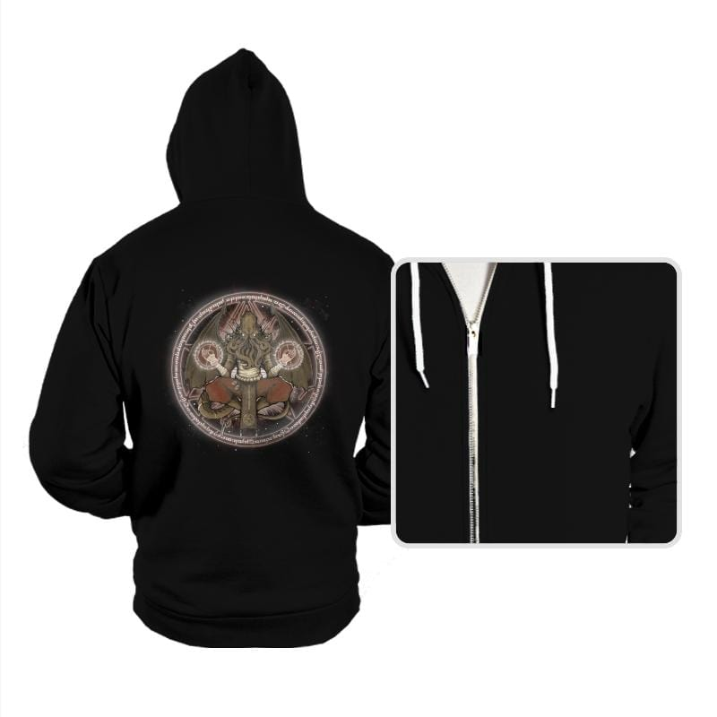 The Cthulhu Runes - Hoodies - Hoodies - RIPT Apparel