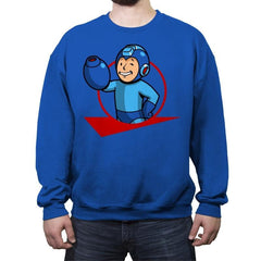 Mega Boy - Crew Neck Sweatshirt - Crew Neck Sweatshirt - RIPT Apparel