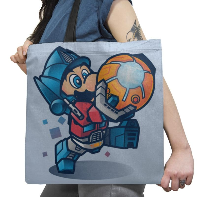Mario Prime Exclusive - Tote Bag - Tote Bag - RIPT Apparel