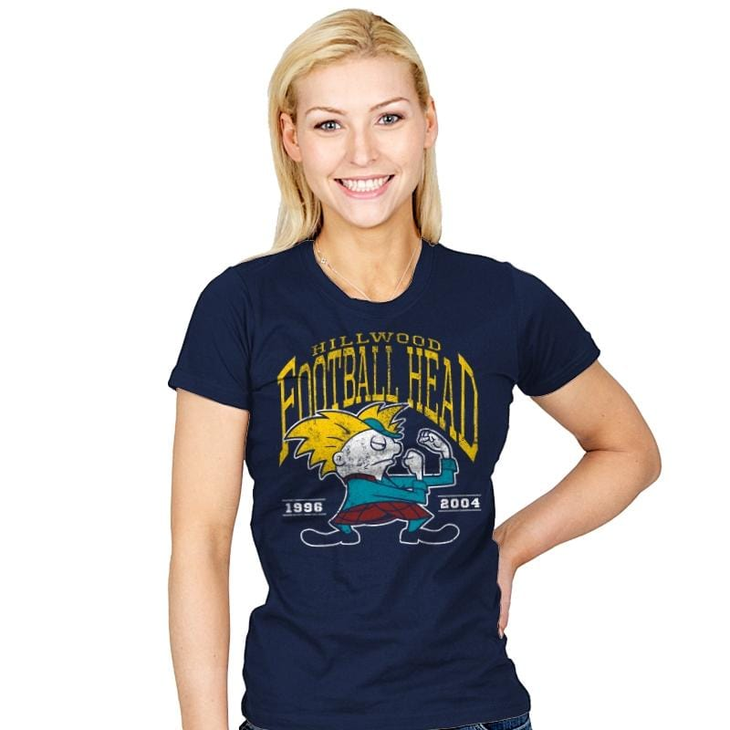 Football Head - Womens - T-Shirts - RIPT Apparel