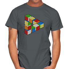 Magic Puzzle Cube Exclusive - Mens - T-Shirts - RIPT Apparel