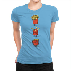 Fry Loss - Womens Premium - T-Shirts - RIPT Apparel