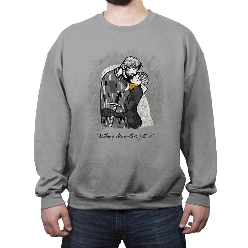 Final Kiss - Crew Neck Sweatshirt - Crew Neck Sweatshirt - RIPT Apparel