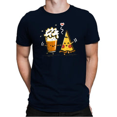 Beer and Pizza - Mens Premium - T-Shirts - RIPT Apparel