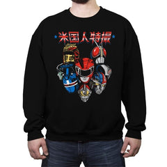 American Toku - Anytime - Crew Neck Sweatshirt - Crew Neck Sweatshirt - RIPT Apparel
